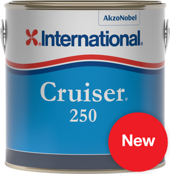 International  Cruiser 250 Antifoul Paint  - Click to view larger image