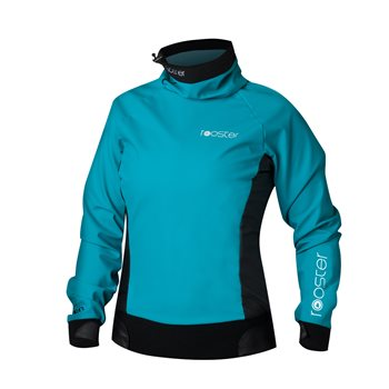 Rooster Pro lite Aquafleece Top - Ladies Teal  - Click to view larger image