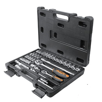 """Tolsen 39 Piece Socket Set with 1/4"""" and 1/2"""" Drive  - Click to view larger image"""