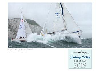 Beken Sailing Action Calendar 2019  - Click to view larger image