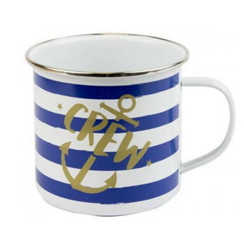 Nauticalia Crew Striped Tim Mug  - Click to view larger image