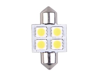 Talamex LED Festoon Bulb 31mm Long 10-30v   - Click to view larger image