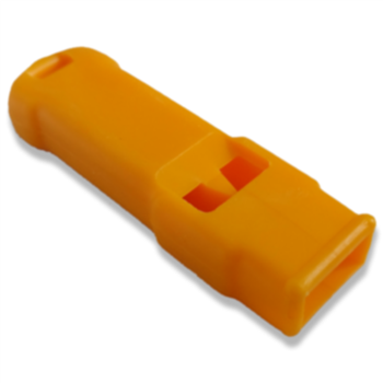 Plastimo Orange Plastic Safety Whislte  - Click to view larger image