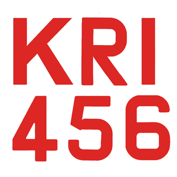 Bainbridge Marine 300mm Sail Numbers & Letters - Red  - Click to view larger image
