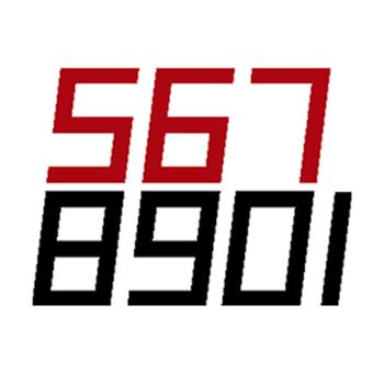 Bainbridge Marine Digital Computer Eight - Sail Numbers   - Click to view larger image