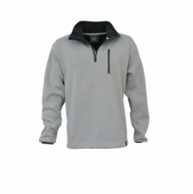 Main Deck Knitted Fleece - Light Grey  - Click to view larger image