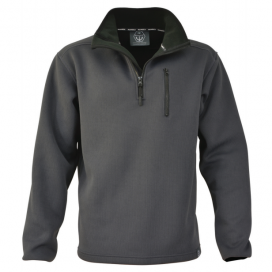 Main Deck Knitted Fleece - Carbon  - Click to view larger image