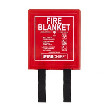 Fire Chief 1m x 1m Fire Blanket - Rigid Box  - Click to view larger image