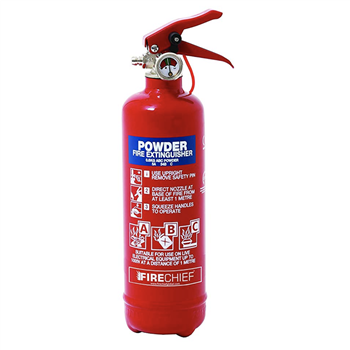 Fire Chief ABC Powder Fire Extinguisher  - Click to view larger image