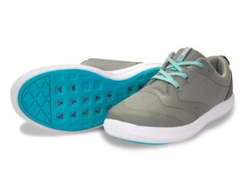 Gul Aqua Grip Hydro Shoe - Grey & Mint  - Click to view larger image