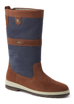 Dubarry Ultima Sailing Boot - Navy Brown  - Click to view larger image