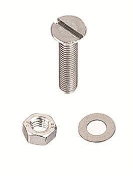 Holt Stainless Steel Countersunk Machine Screws  - Click to view larger image