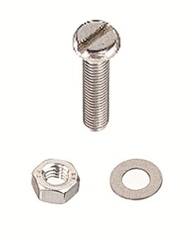 Holt Stainless Steel Pan Head Machine Screws  - Click to view larger image