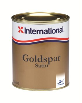 International  Goldspar Satin Varnish  - Click to view larger image