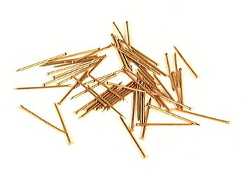 Holt Brass Panel Pins  - Click to view larger image