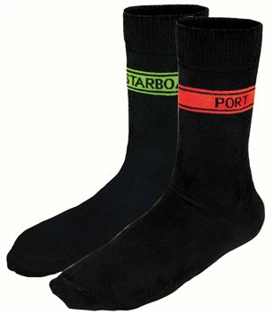 Nauticalia Port & Starboard Socks  - Click to view larger image