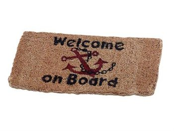 Talamex Welcome On Board Mat  - Click to view larger image