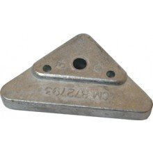 Tecnoseal Volvo Penta Triangle Anode   - Click to view larger image