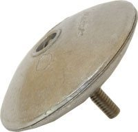 MG Duff Zinc Trim Tab Anode ZD52  - Click to view larger image