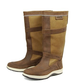 leather sailing boots