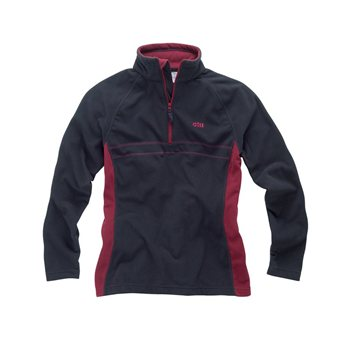 Gill  Women's Grid Micro Fleece with Half Zip   - Click to view larger image
